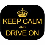 Set 2 parasolare Keep Calm and Drive On Eurasia 10940